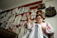 The Romanian blouse, Voichita and Fair Trade