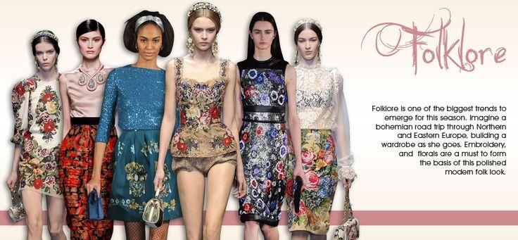 City Chic Folk Fashion Trends
