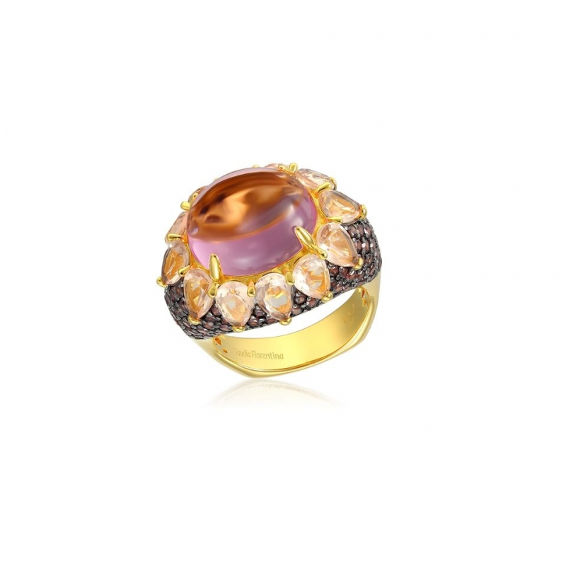 Sun Flower Silver ring