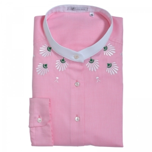 Alice Enco Pink Greek motifs Shirt