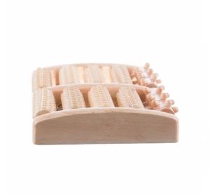 Aparat din lemn pentru masaj talpă 10 role