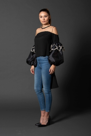 Ie Black Flower Ie Clothing