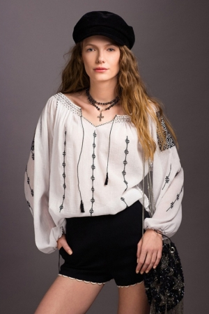 Ethical made Traditional Handmade Embroidery Theodora