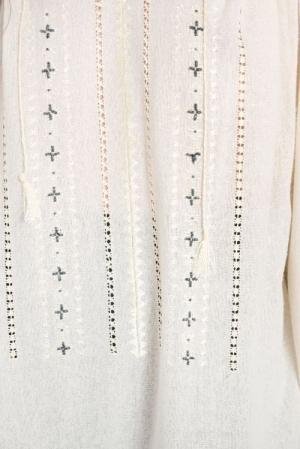 Bluza tip ie din borangic de matase cusuta manual