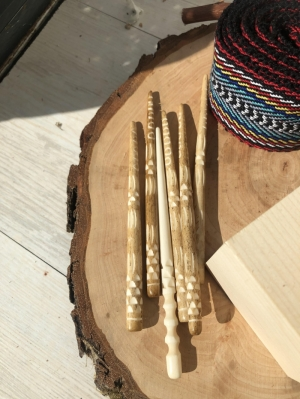 Bone hair stick Natural Pin