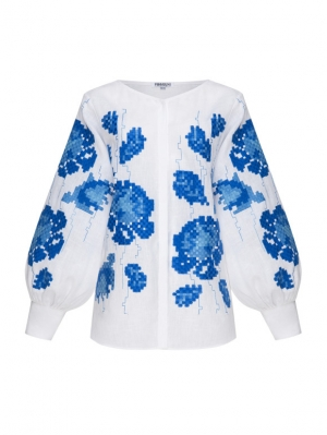 Camelia embroidered blouse Foberini