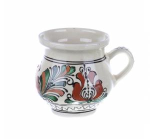 Cana vin / ceai / bere ceramica colorata Corund 400 ml