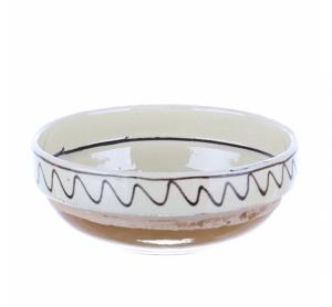 Castron ceramica traditionala Corund 16 cm