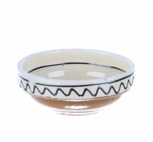Castronel mic ceramica traditionala Corund 10 cm