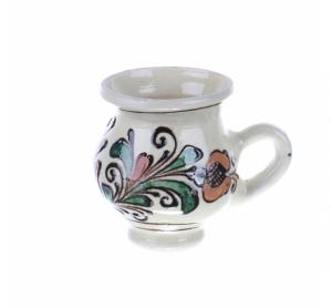 Ceasca cafea / tuica ceramica colorata Corund 100 ml