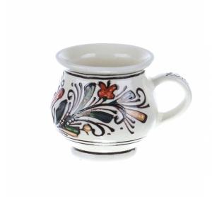Ceasca vin / ceai / cafea ceramica colorata Corund 200 ml