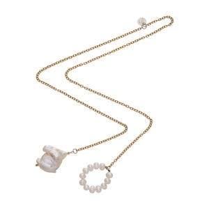 Colier Pearly Chain Necklace