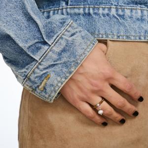 Dancing Pearl Ring