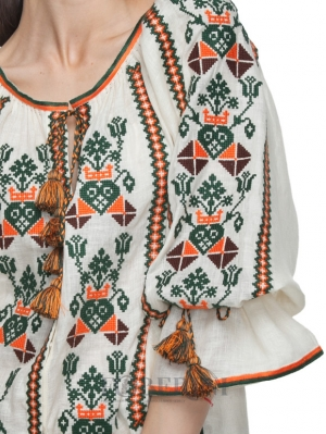 "Embroidered Blouse Vyshyvanka ""Kolosok"""