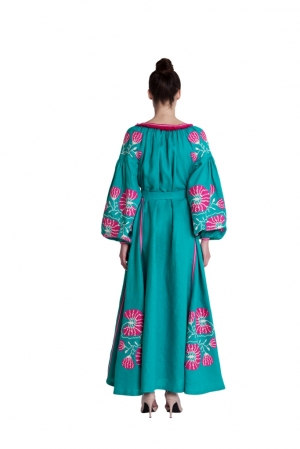 """Embroidered dress """"Candy"""""""