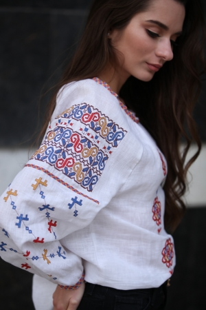 Embroidered  Ethnic Blouse Moldova