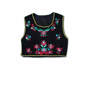 Embroidered Traditional Romanian Vest
