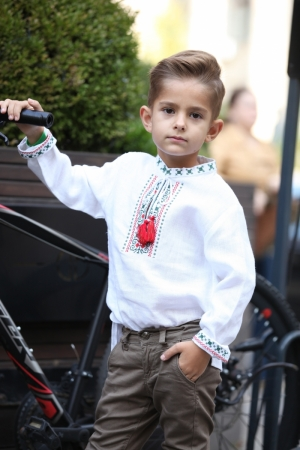 Ethnic embroidered shirt for Boys