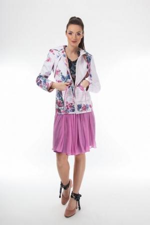 Floral parka jacket  Onibon Fashion
