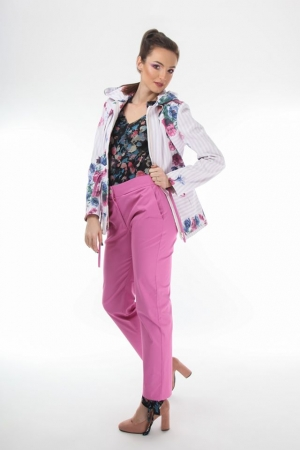 Floral parka jacket  Onibon Fashion