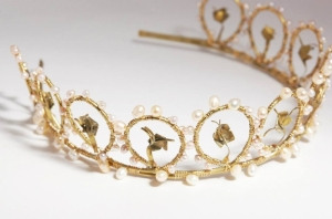 Flowers handcrafted tiara
