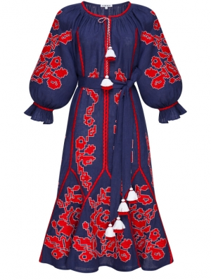 Foberini Dress Embroidery Maya