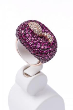 Forbidden Fruit Silver Ring