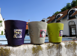 Handmade Ceramic Flowerpots Queen Marie Of Romania