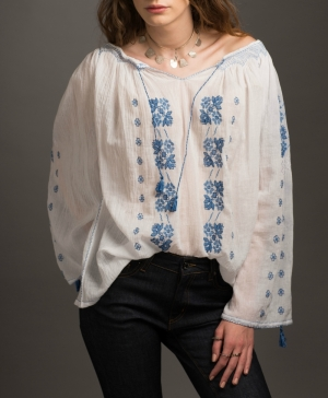 Hortence Romanian Traditional Handmade Blouse
