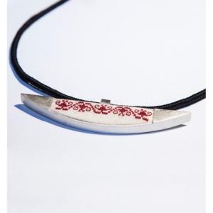 Life-silver-handmade-pendant