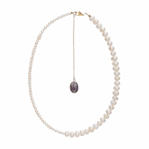 Pearls Talisman Necklace