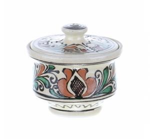 Recipient zahar ceramica colorata Corund