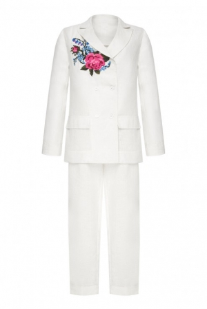 """ROSE"" WHITE COSTUME FOBERINI"