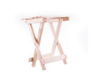 Scaun din lemn pliabil pentru camping model 1