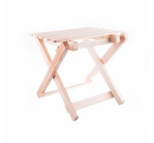 Scaun din lemn pliabil pentru camping model 2