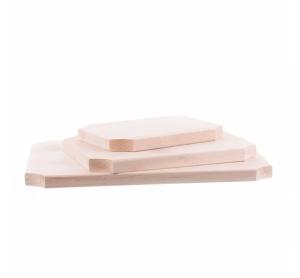 Set 3 tocătoare din lemn dreptunghiulare, mic, mediu și mare