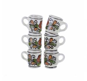Set canute tuica ceramica colorata Corund 6 x 40 ml