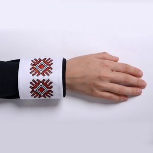 Shirt Cuff With Embroidered Motifs Mayflower Alisia Enco