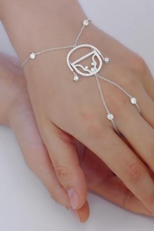 Silver bracelet Adam Claudia Florentina