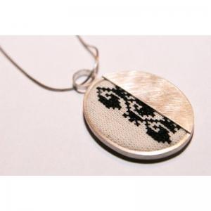 Silver handmade pendant Hunedoara