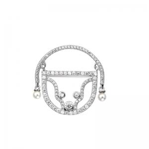 Cercei argint cu perle Adam si Eva colectia Amor- bijuterie Românească -designeri-Români-Dragobete