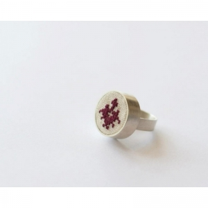 Silver Ring Bucovina