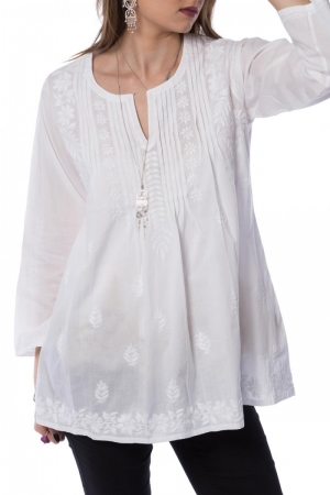 Summer shirt with traditional motifs XI Claudia Florentina