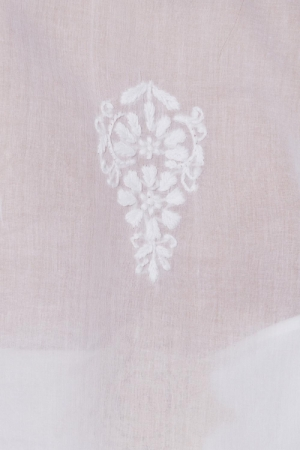 Sun white embroidered shirt I
