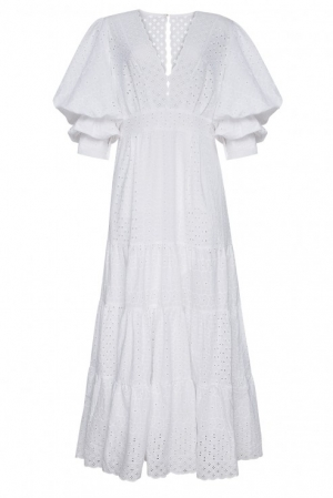 Foberini Swan white dress