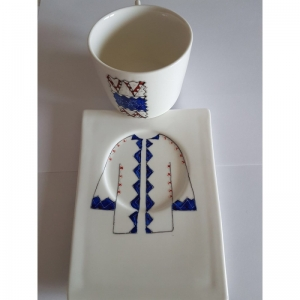 The Costume Porcelain Cup set