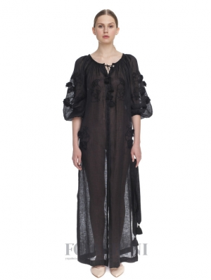 "Tunic-embroidery ""Black diamond"""