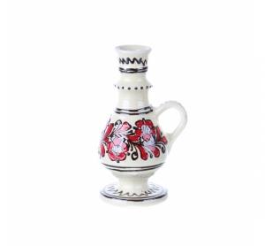 Ulcior mic ceramica rosie de Corund 250 ml