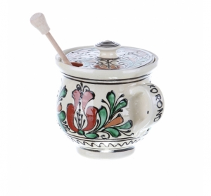 Vas Miere ceramica colorata Corund 350 ml
