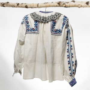 Camasa ie veche traditionala romaneasca origine Arad